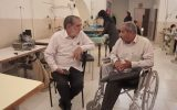 استخدام معلولین در یک کارگاه پوشاک!