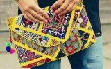سوزن دوزیهای بلوچستان با طرحهای پست مدرن در تولید لباس ملی