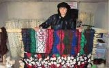 روستای هفت چشمه ایلام و هنر چیت بافی بانوانش