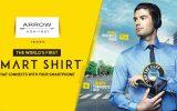 اولین پیراهن هوشمند جهان را برند Arrow طراحی کرد