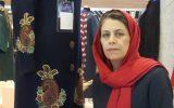 فاطمه منصوری مستوفی طراح لباس سنتی و مدرن با هنر پته دوزی