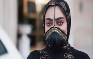 «بُرکانو»اثر جدید طراح هرمزگانی برای دورانِ بدون ماسک