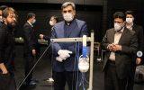 شهردار تهران از کارگاه خیریه تولید ماسک در تالار حافظ دیدن کرد