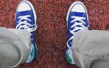 کفش های کتانی داستان شما را تعریف می کنند