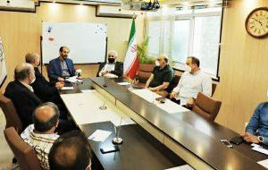 اولین جلسه کارگروه پشتیبانیها و مانعزداییها از تولید