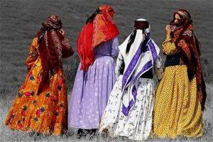 لباس زنان آذربایجان شرقی1