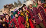 لباس سنتی قوم قزلباش / جلوه گری رنگ و نقش