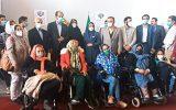 اهدای مواد اولیه تولید به معلولین موسسه باغ فرشته تهران